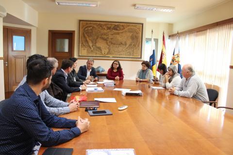 Reunión de directores de los centro educativos de Candelaria