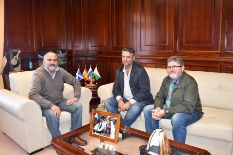 Visita de la COAG al Ayuntamiento de El Rosario