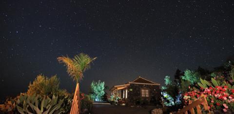 Cielo estrellado en La Palma