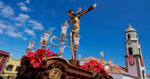 Cristo de la Redención en Semana Santa Los Realejos