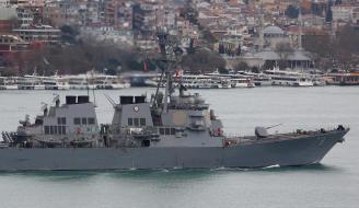 Destructor USS Porter con base en Rota