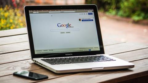 Google en un ordenador