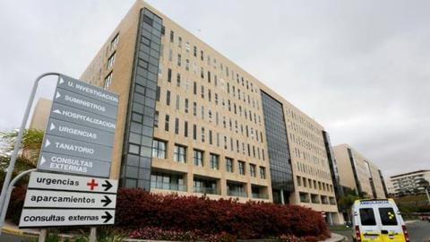 Edificio del Hospital Universitario de Gran Canaria Dr. Negrín