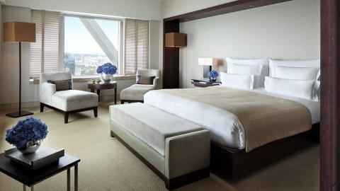 Interior de una habitación de hotel