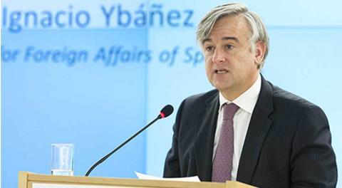 Ignacio Ybáñez, embajador español en Moscú