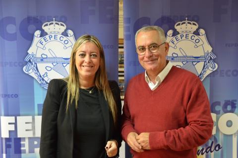 Óscar Izquierdo y María Haro