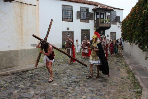 Representación de la Pasión de Cristo en San Juan de la Rambla