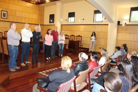 Presentación del Programa de Empleo de Candelaria