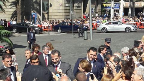 Felipe VI en Tenerife