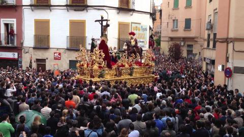 Procesión de Semana Santa en Sevilla