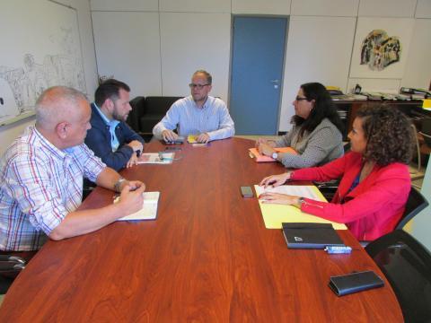 Reunión del sector del taxi en Las Palmas de Gran Canaria