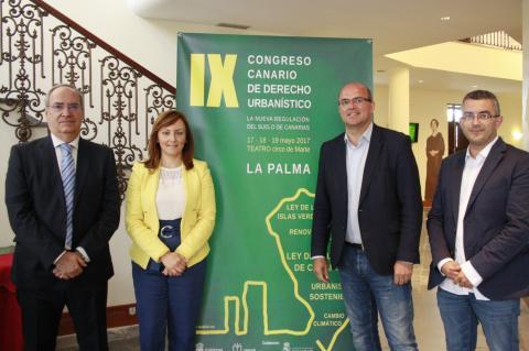 Nieves Lady Barreto en el Congreso de Derecho Urbanístico