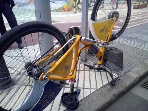 Bicicleta de ByBike LPA