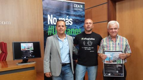 Carmelo Ramírez, Javier León y Juan Carlos Lorenzo