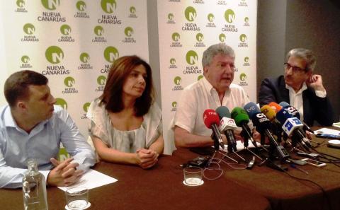 Ejecutiva nacional de Nueva Canarias