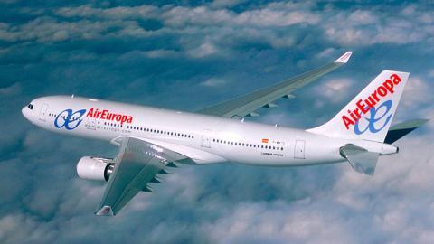 Avión de Air Europa