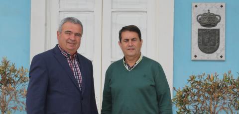 El alcalde de San Miguel de Abona, Arturo González y el el Concejal de Hacienda, Antonio M. Rodríguez
