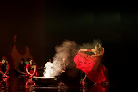 Momento del Ballet Amor Brujo