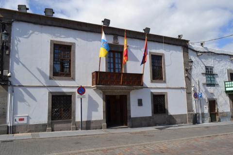 Fachada del Ayuntamiento de Telde