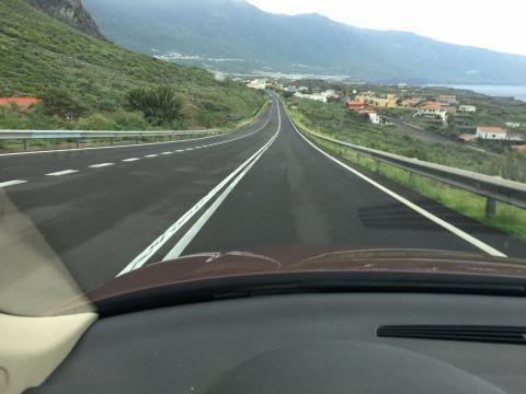Carretera de El Hierro
