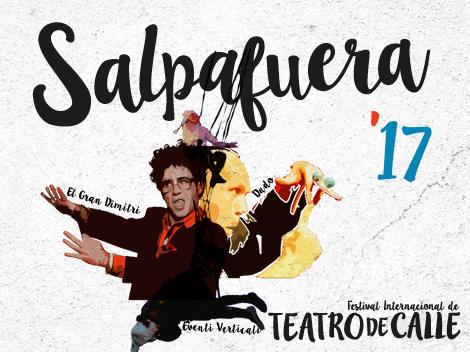 """Cartel del teatro de calle """"Salpafuera 2017"""""""