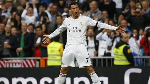 Cristiano Ronaldo celebrando un gol