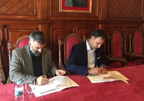 Firma del Convenio de San Sebastián de La Gomera con la ULL