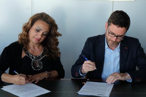 Cristina Valido y Pablo González-Haba