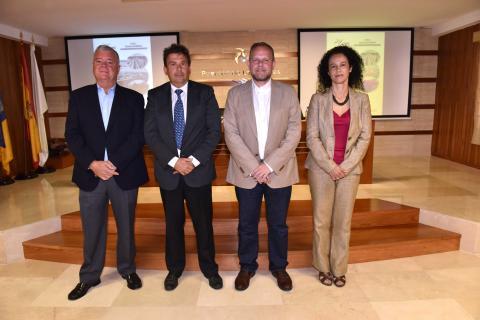 José Eduardo Ramírez, Luis Ibarra, Elba Bueno Leonardo Marcos