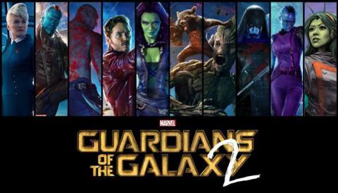 Cartel de la película Guardianes de la Galaxia, vol. 2