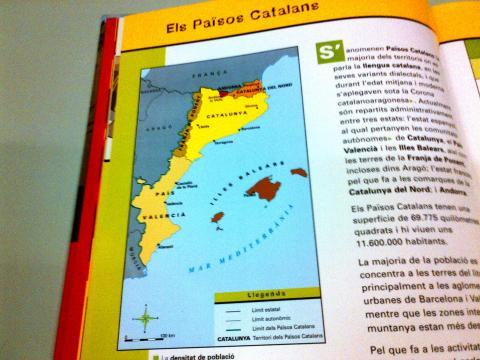 Libro de texto de Cataluña