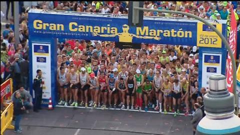 Salida del Gran Canaria Maratón