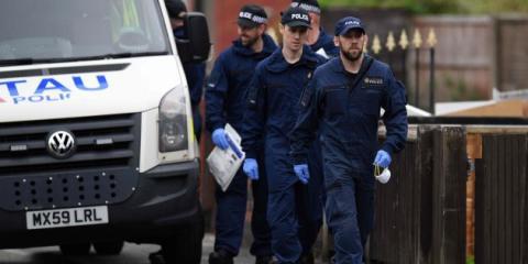 Policías del Reino Unido