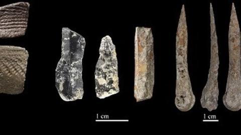 Restos humanos del Neolítico