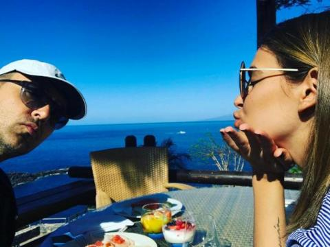 Risto Mejide y Laura Escanes en Tenerife
