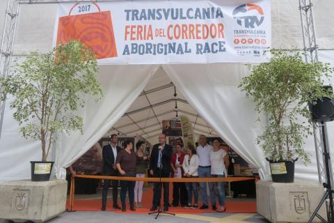 Entrada de la Feria del Corredor de Transvulcania 2017 de La Palma