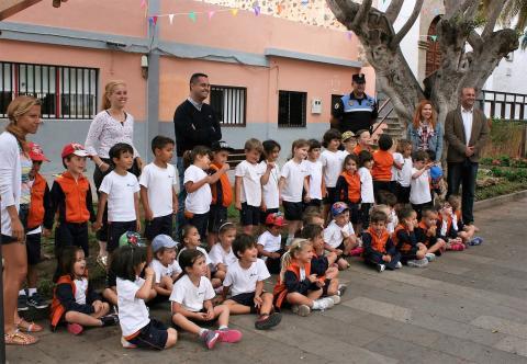 Visita de alumnos a la Policía Local de Granadilla de Abona