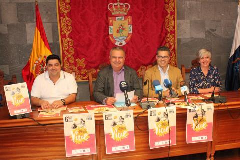 """Presentación de la Muestra Comercial y de Ocio """"Vive San Miguel"""""""
