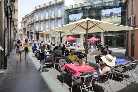 Restaurantes en la Zona Comercial Abierta de Triana en Las Palmas de Gran Canaria