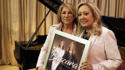 Mariola Mendiola y Cristina Sevilla, el dúo Baccara