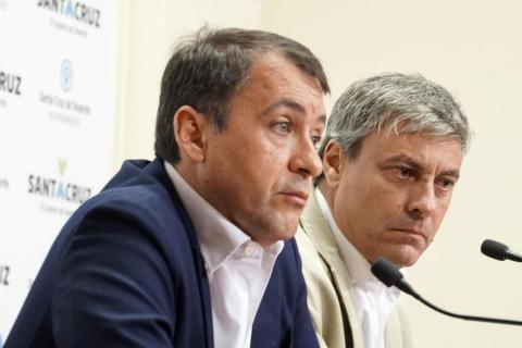 José Manuel Bermúdez y Carlos Garcinuño