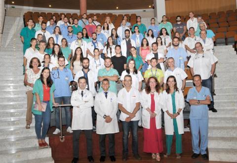Residentes del Hospital Dr. Negrín