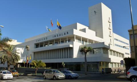 Fachada del Cabildo de Gran Canaria