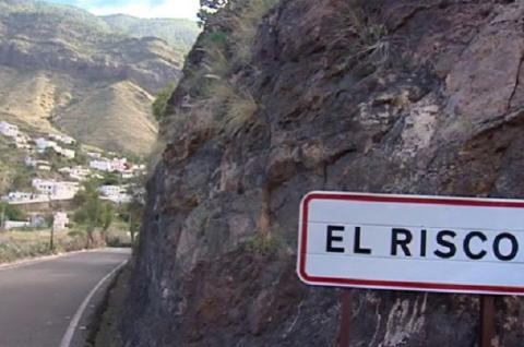 Carretera de El Risco en La Aldea