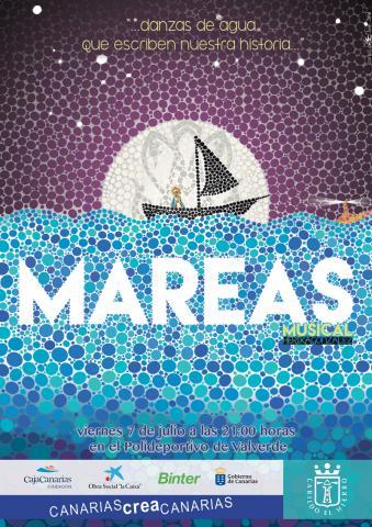 Cartel del Musical Mareas