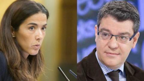 Celia Alberto y Álvaro Nadal