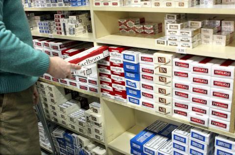 Cajas de cigarrillos