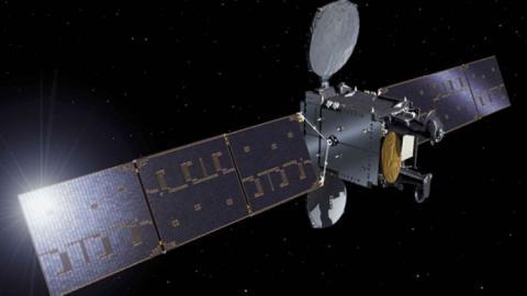 El satélite español Hispasat 36W-1