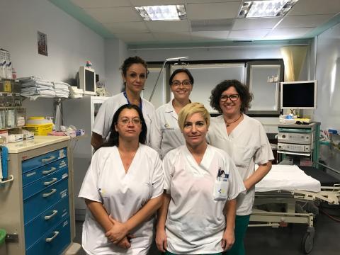 Equipo sanitario de Fuerteventura