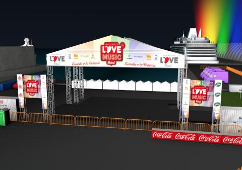 Escenario Love Music Festival